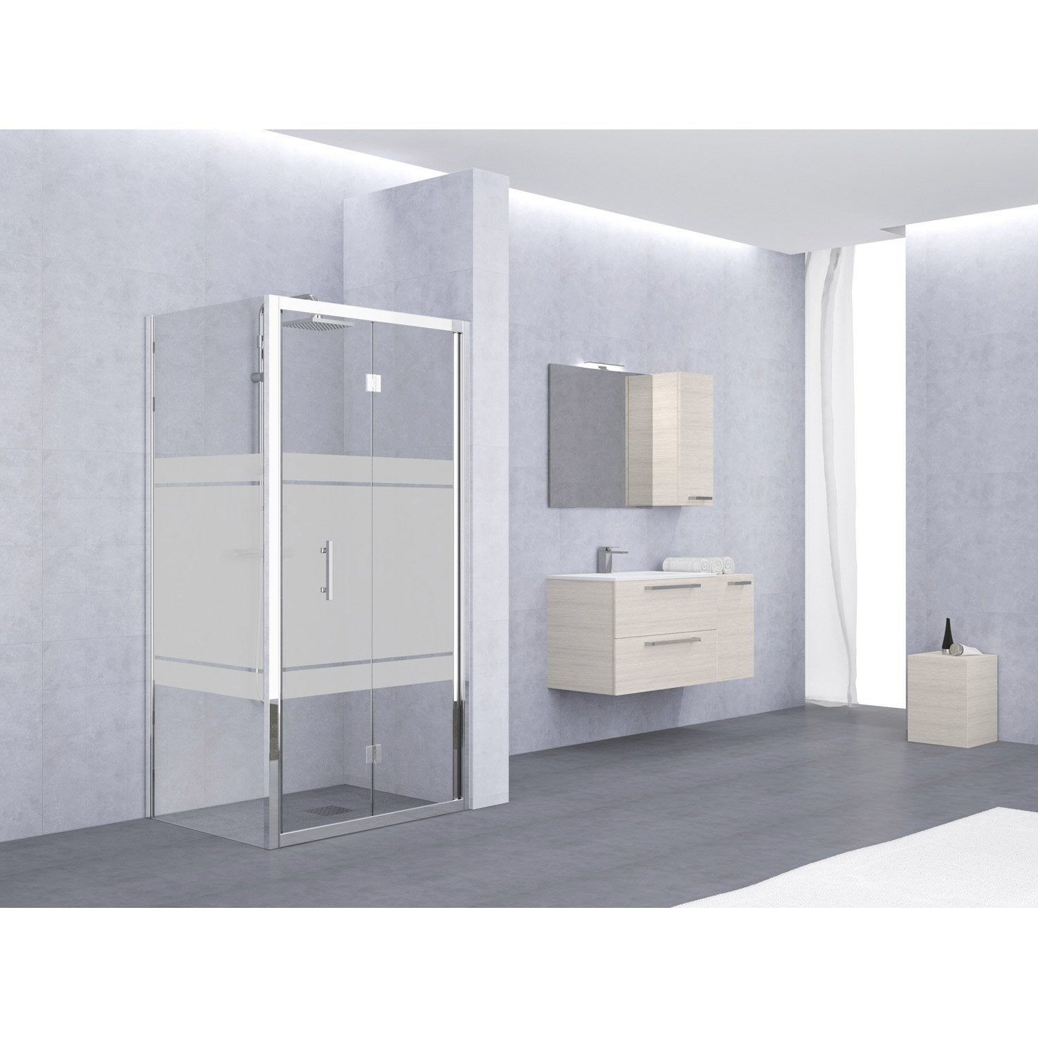 porte de douche pliante leroy merlin. Black Bedroom Furniture Sets. Home Design Ideas