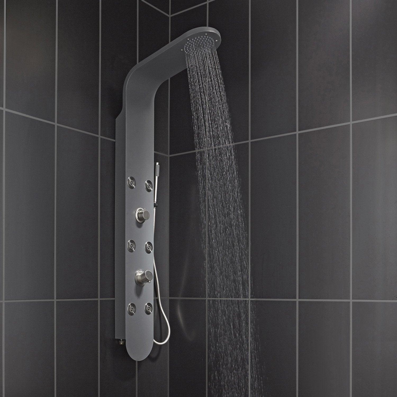 Colonne hydromassante bali meca leroy merlin - Colonne salle de bains leroy merlin ...