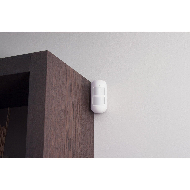 d tecteur de mouvement capteur intelligent compatible animaux smanos md9100 leroy merlin. Black Bedroom Furniture Sets. Home Design Ideas