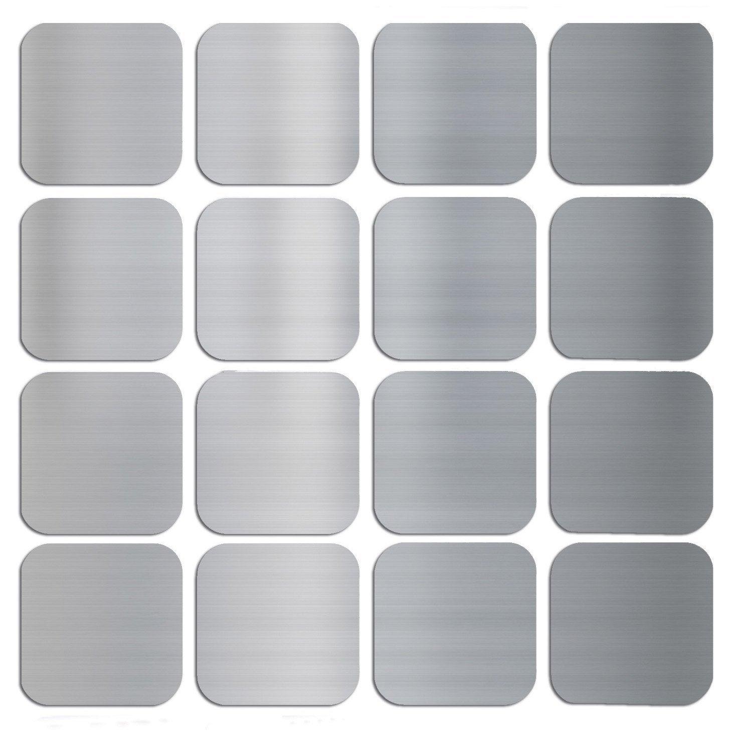 2 stickers pixels 15x15 cm leroy merlin. Black Bedroom Furniture Sets. Home Design Ideas