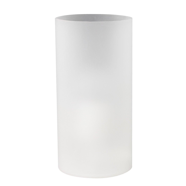 lampe e27 basic verre blanc 60 w leroy merlin. Black Bedroom Furniture Sets. Home Design Ideas