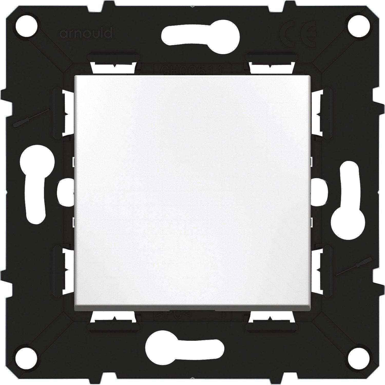 interrupteur va et vient voyant lumineux espace volution arnould blanc leroy merlin. Black Bedroom Furniture Sets. Home Design Ideas