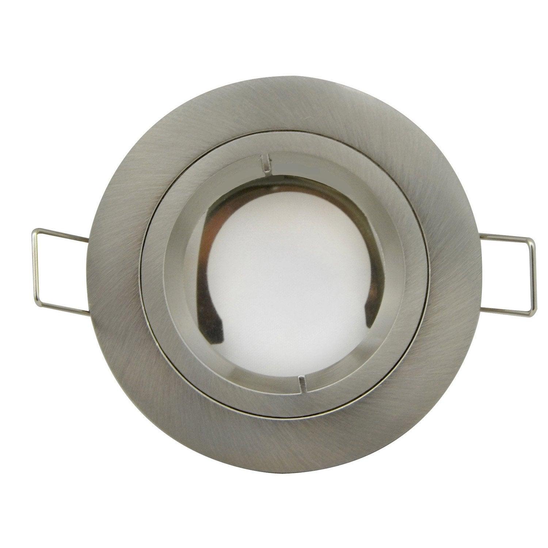 anneau pour spot encastrer bbc fixe sans ampoule acier leroy merlin. Black Bedroom Furniture Sets. Home Design Ideas