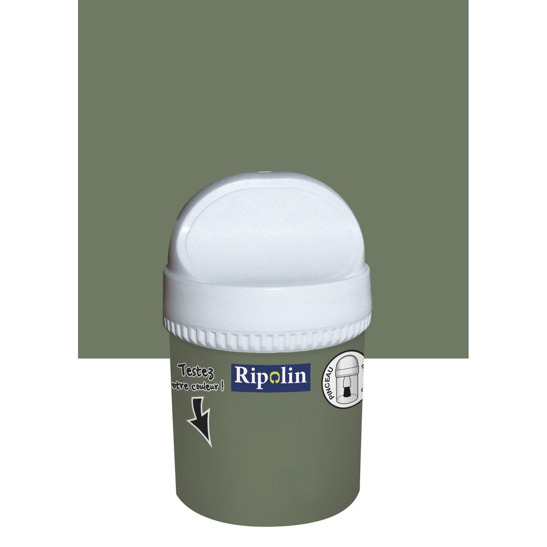 Testeur peinture vert v g tal ripolin attitude caf du - Peinture escalier leroy merlin ...