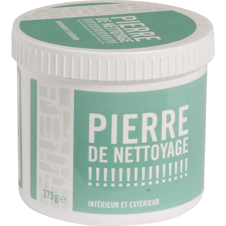 Pierre de nettoyage 375g leroy merlin for Nettoyer carrelage exterieur encrasse