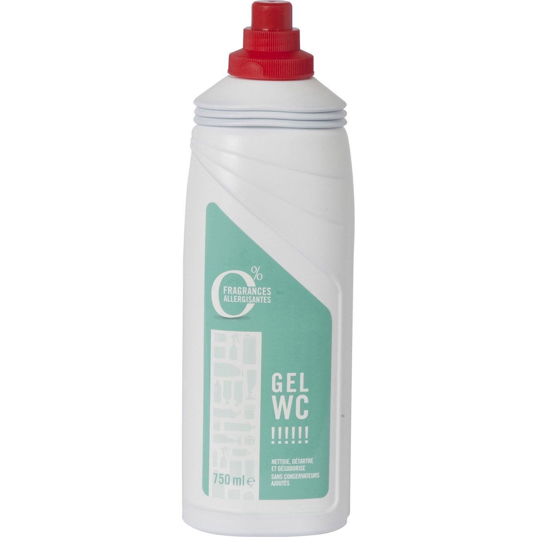 D tartrant wc en gel 750ml leroy merlin for Gel transfer leroy merlin