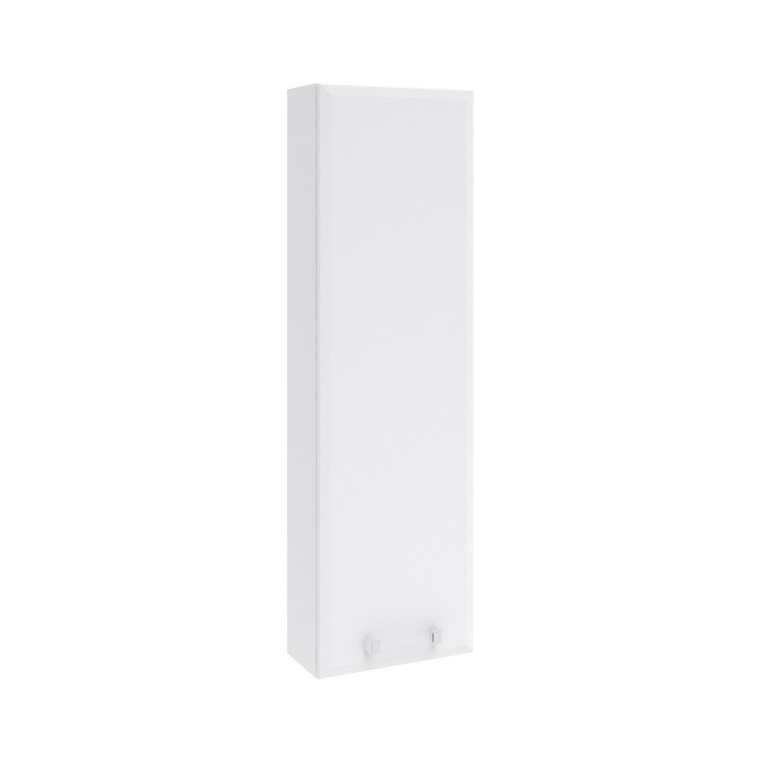 Meuble haut x x cm blanc opale leroy for Meuble aquarium 100 x 30