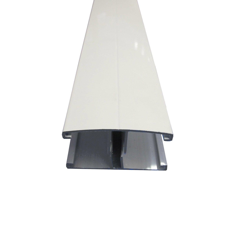 Profil jonction pour plaque ep 16 32 mm blanc l 4 m leroy merlin - Plaque polycarbonate 32 mm leroy merlin ...