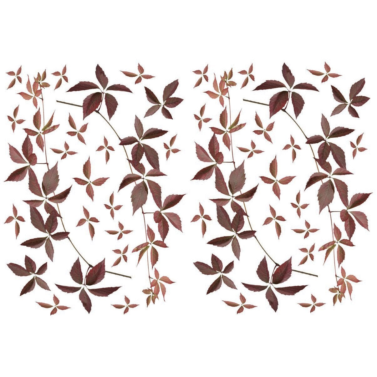 Sticker branches d 39 automne 21 cm x 29 7 cm leroy merlin - Leroy merlin stickers ...