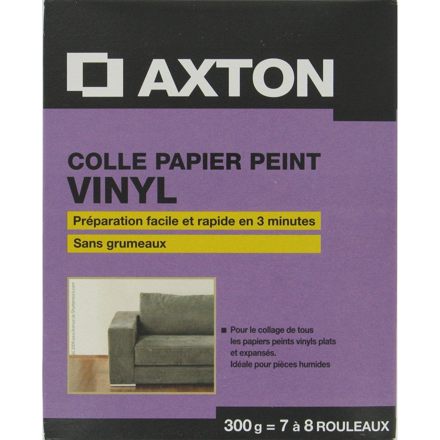 colle papier peint vinyle axton 0 3 kg leroy merlin. Black Bedroom Furniture Sets. Home Design Ideas