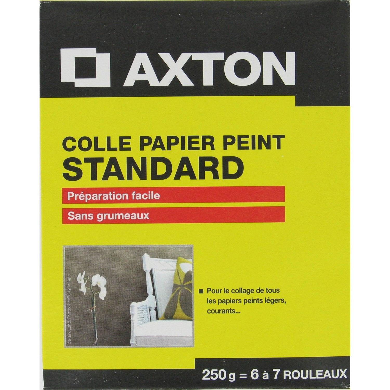 Colle pour papier peint standard axton 250 gr leroy merlin - Decolle papier peint ...