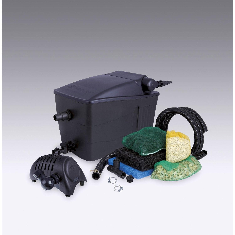 Kit de filtration ubbink filtramax 9000 l leroy merlin for Pompe piscine hors sol leroy merlin