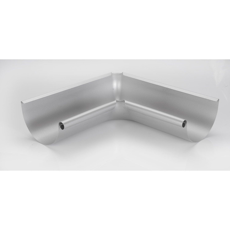 angle int rieur 90 acier laqu gris scover plus d cm leroy merlin. Black Bedroom Furniture Sets. Home Design Ideas