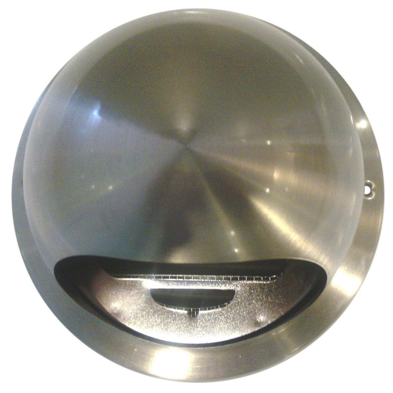Bouche d 39 extraction acier inoxydable vernis cm for Ventilation cuisine gaz