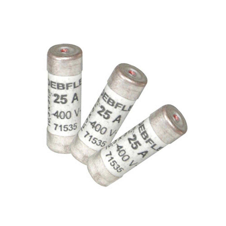 Lot de 3 fusibles c ramique 25 a 10 3 x 31 5 mm leroy - Carrelage ceramique leroy merlin ...