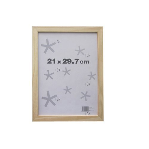 cadre 21 x 29 7 cm naturel leroy merlin. Black Bedroom Furniture Sets. Home Design Ideas