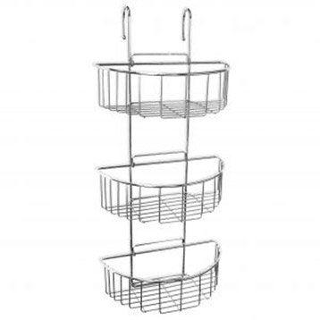 etag re de bain douche swing suspendre la paroi chrom tatay leroy merlin. Black Bedroom Furniture Sets. Home Design Ideas