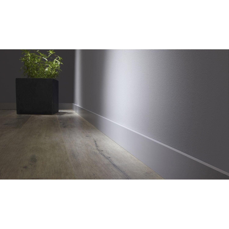 plinthe m dium mdf droite rev tu m lamin gris galet 3 10 x 70 mm l 2 2 m leroy merlin. Black Bedroom Furniture Sets. Home Design Ideas