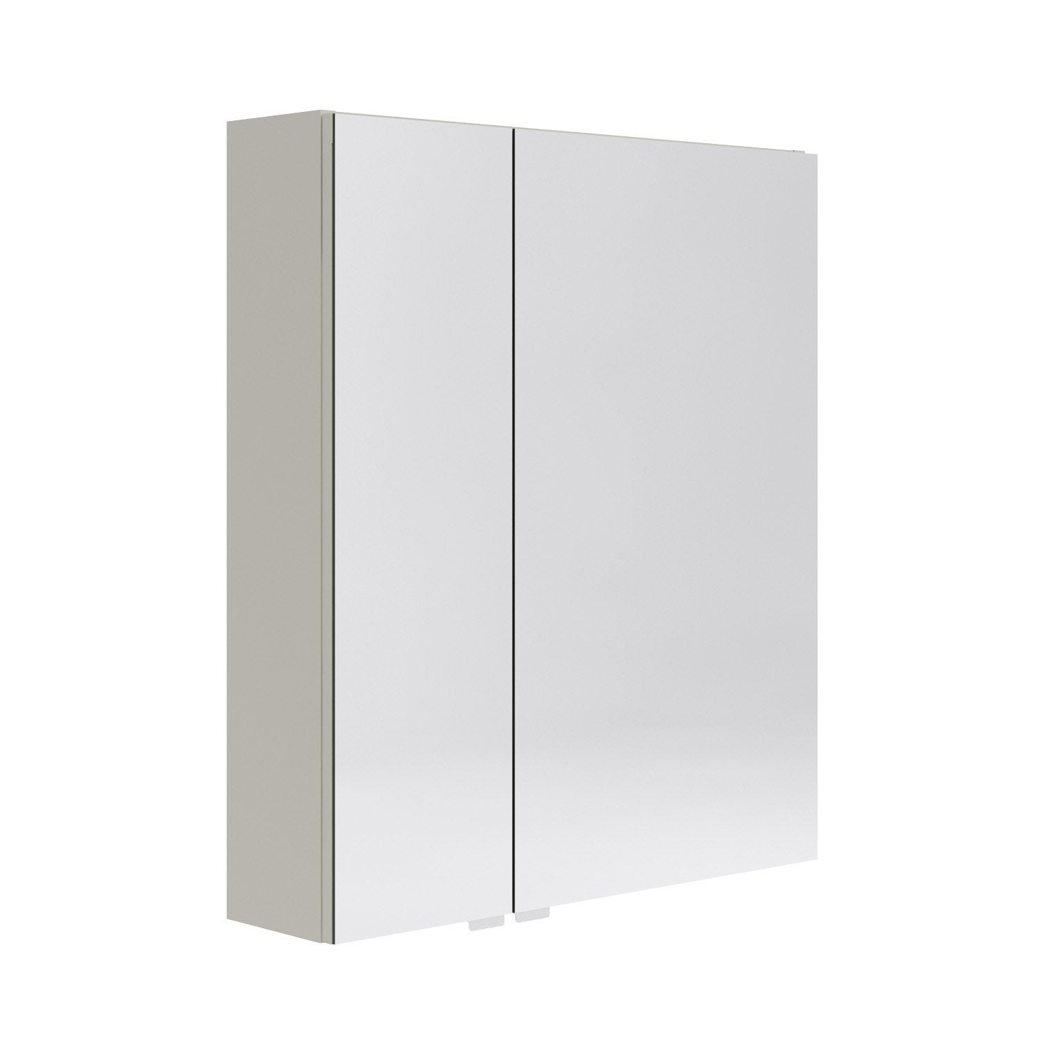 armoire de toilette l 60 cm beige opale leroy merlin. Black Bedroom Furniture Sets. Home Design Ideas