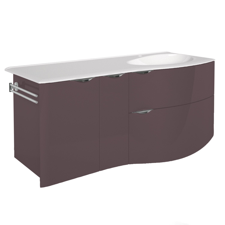 Meuble vasque 130 cm elegance leroy merlin - Meuble vasque leroy merlin ...