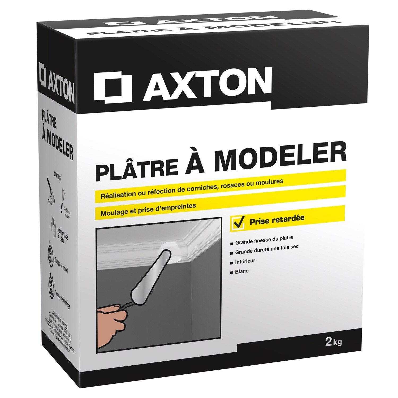 Pl tre modeler poudre blanc axton 2 kg leroy merlin - Poudre a modeler ...