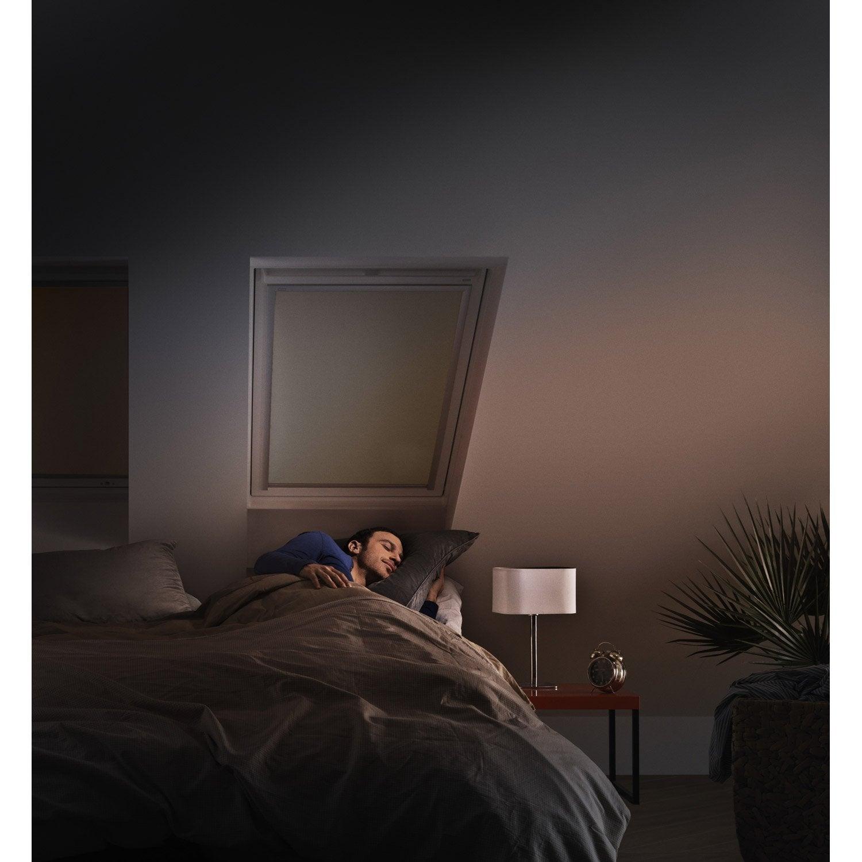 store fen tre de toit occultant beige velux dkl uk08. Black Bedroom Furniture Sets. Home Design Ideas
