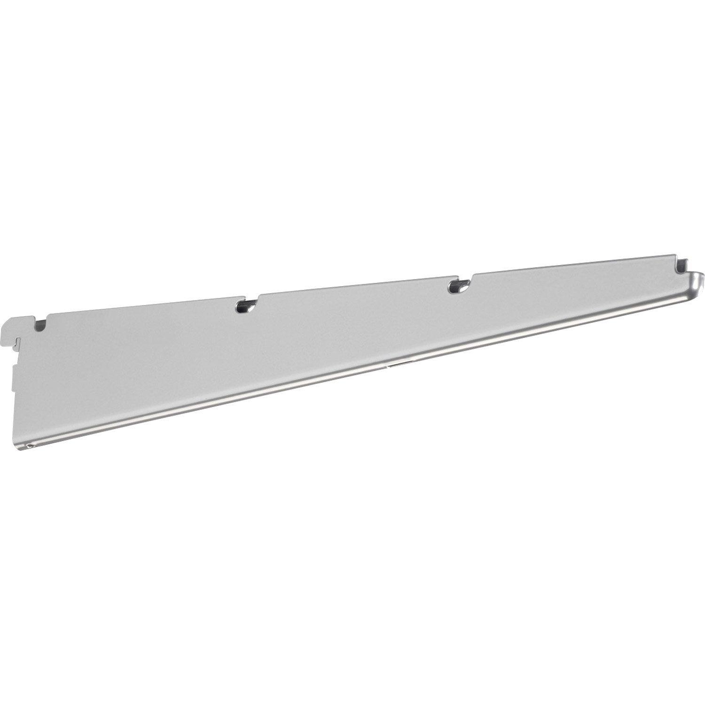 Console pour tag re filaire elfa platinium h 7 3 x l 1 3 for Console pliante pour tablette rabattable