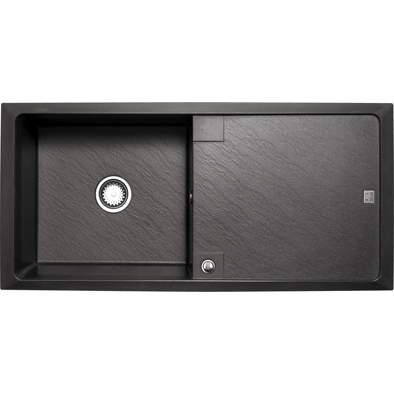 vier encastrer astracast contour 1 bac avec gouttoir. Black Bedroom Furniture Sets. Home Design Ideas