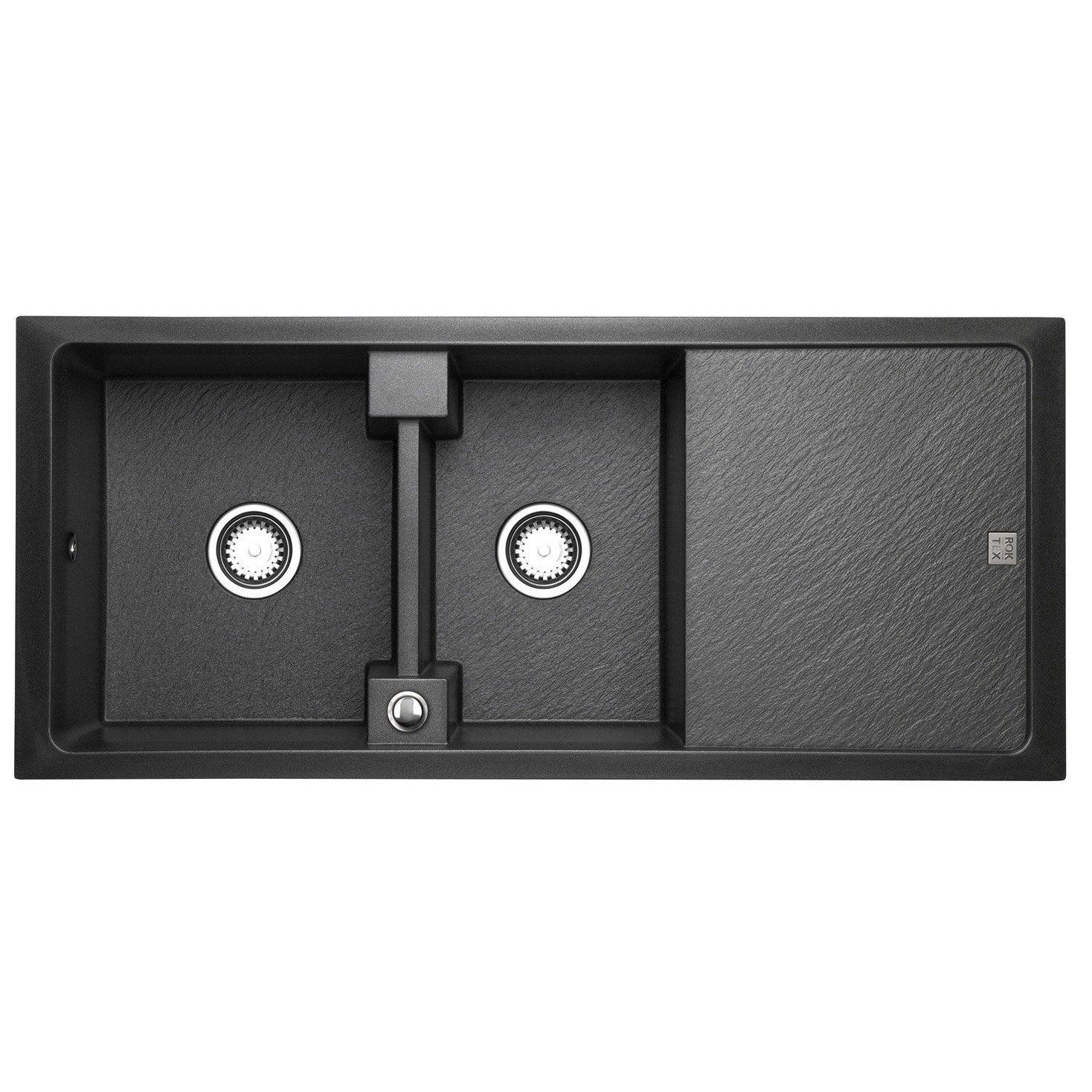 vier encastrer astracast contour 2 bacs avec gouttoir. Black Bedroom Furniture Sets. Home Design Ideas