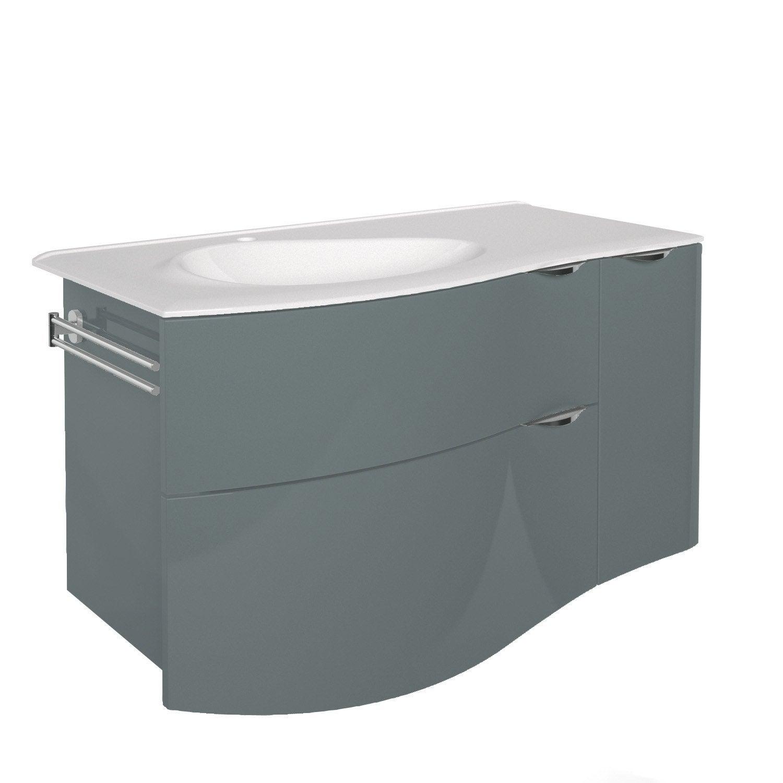 Meuble vasque 100 cm elegance leroy merlin - Meuble vasque leroy merlin ...