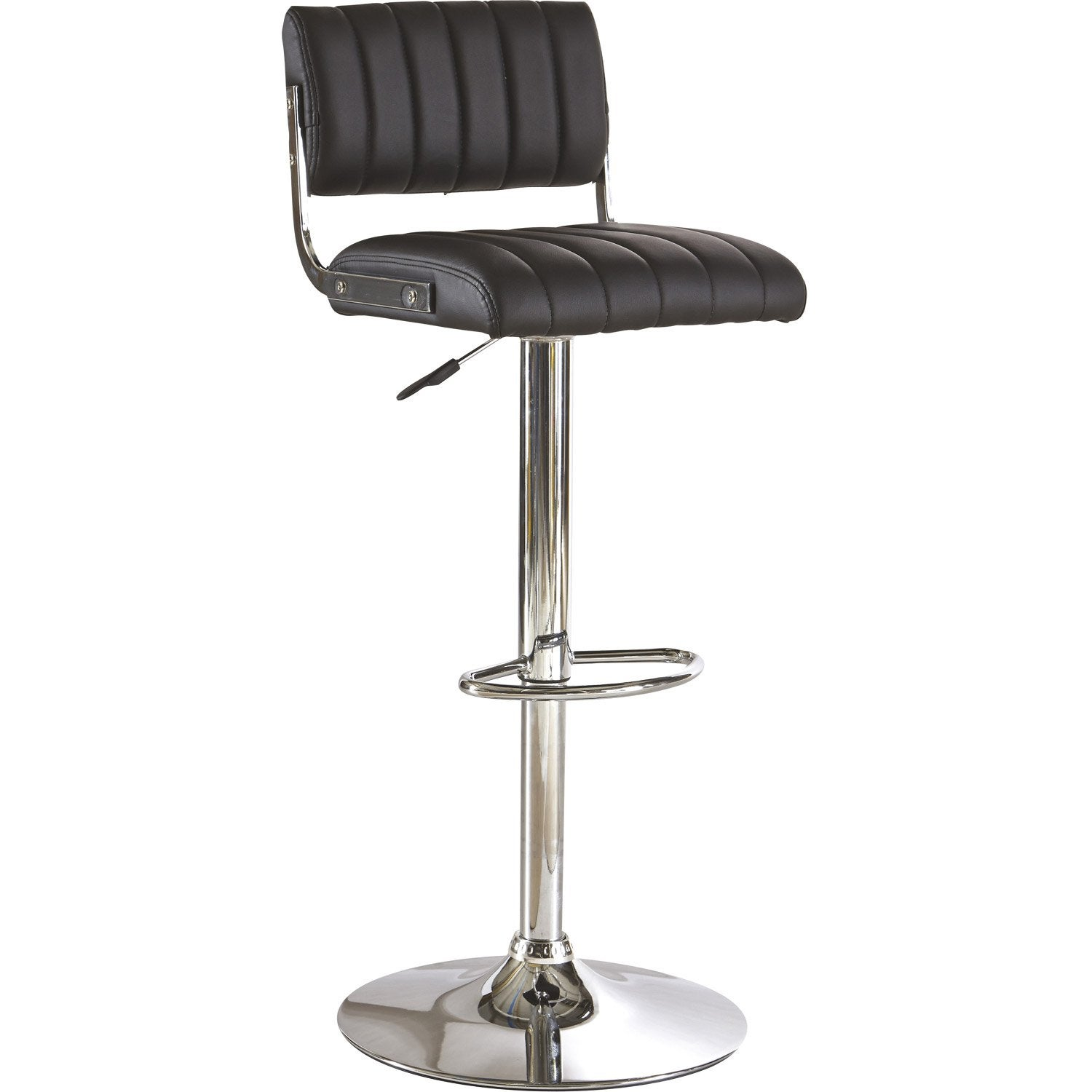 Assise de tabouret de bar sans le pied maison design - Pied de tabouret bar chrome ...