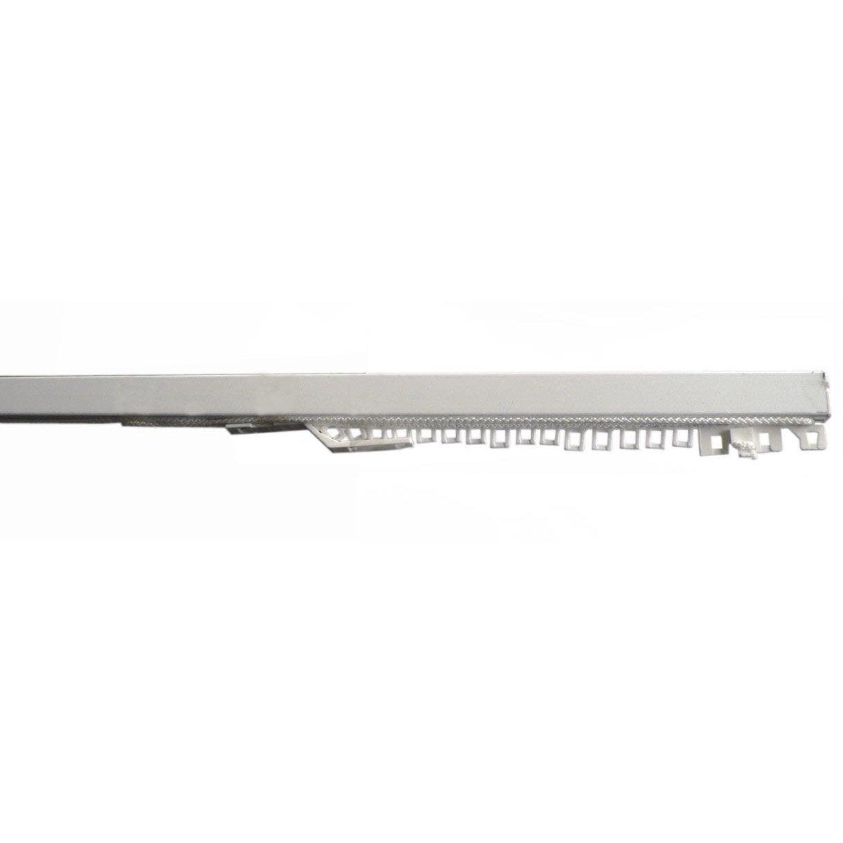 rail acier classic rail blanc laqu cm ouverture lat rale 1 rideau leroy merlin. Black Bedroom Furniture Sets. Home Design Ideas