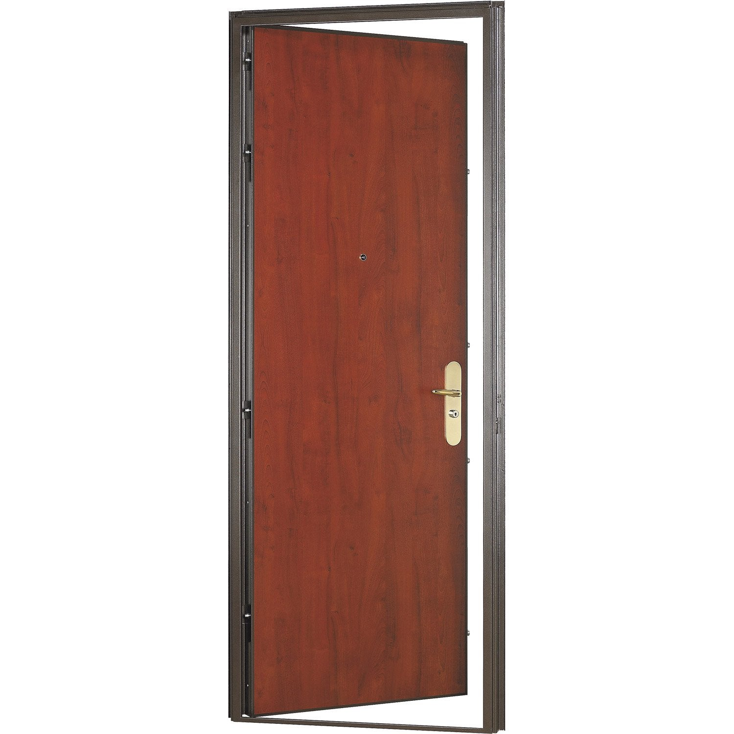 Porte blind e sur mesure diamant 2 leroy merlin for Porte appartement bois