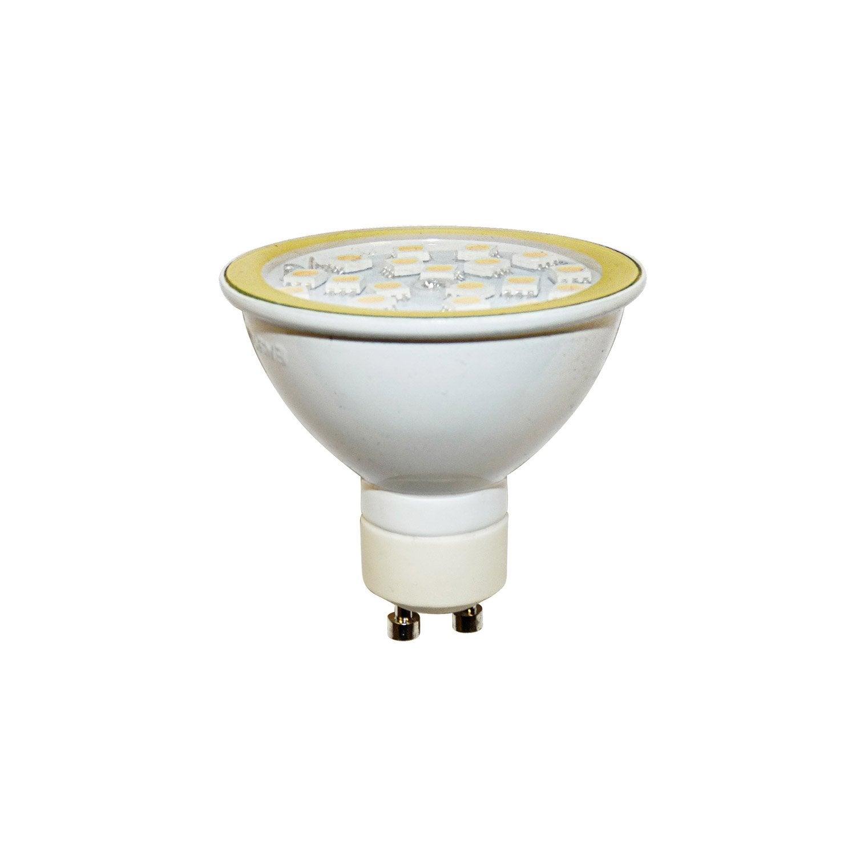 ampoule r flecteur led 4 gu10 lumi re chaude env 2700k. Black Bedroom Furniture Sets. Home Design Ideas