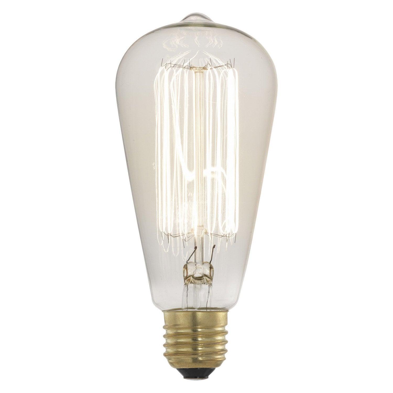Ampoule Autres Incandescent 60 E27 Lumi Re Chaude Env 2700k Leroy Merlin