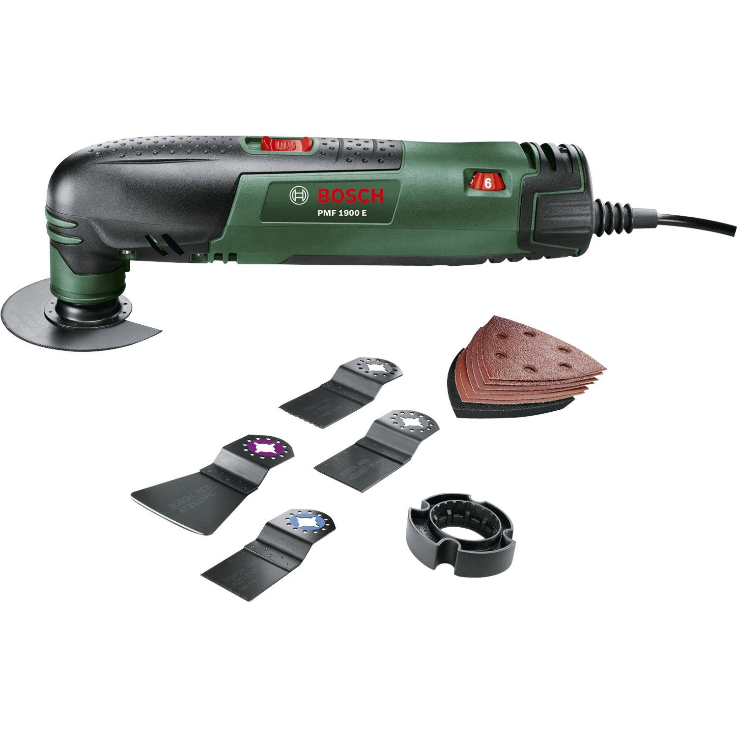 Ponceuse multifonction bosch pmf 1900e 190w leroy merlin - Ponceuse multifonction bosch ...
