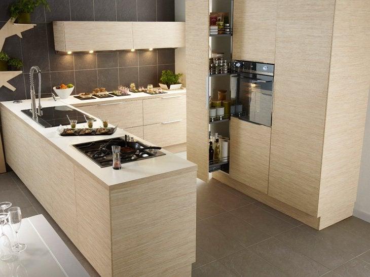 Billot Bois Leroy Merlin : Meuble Centre Cuisine Bois Blanc 02 Jpg Pictures to pin on Pinterest