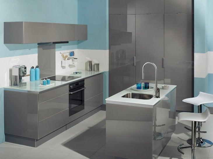 cuisine ilot central leroy merlin. Black Bedroom Furniture Sets. Home Design Ideas