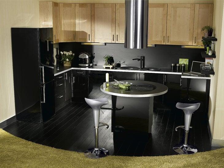 ilot cuisine leroy merlin maison design. Black Bedroom Furniture Sets. Home Design Ideas