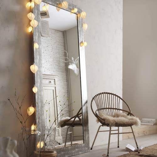 Stickers cadre affiche et miroir d coration - Miroir baroque leroy merlin ...