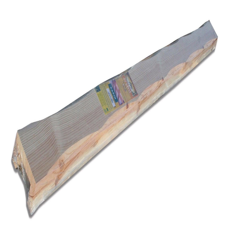 Poutre pin creuse l 6 x cm l 2 5 m leroy merlin - Poutre bois leroy merlin ...