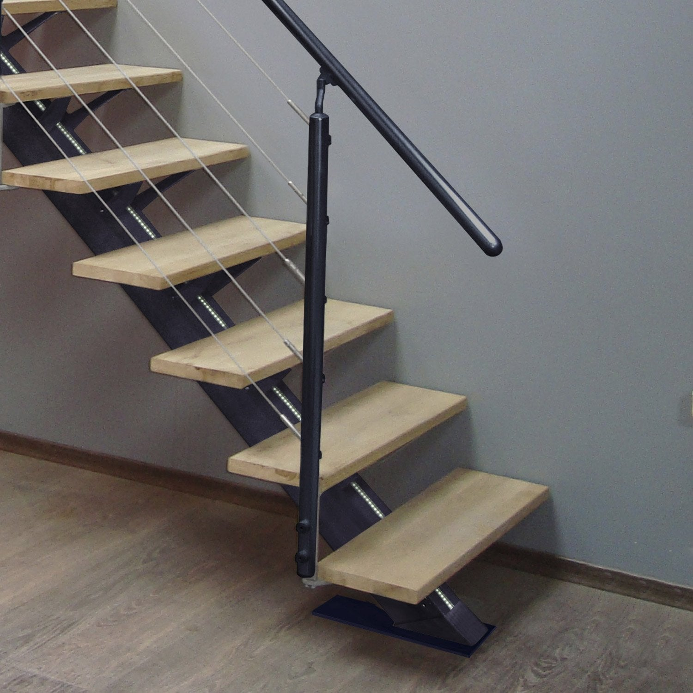 Kit rampe pour escalier mona escapi leroy merlin - Changer rampe escalier bois ...