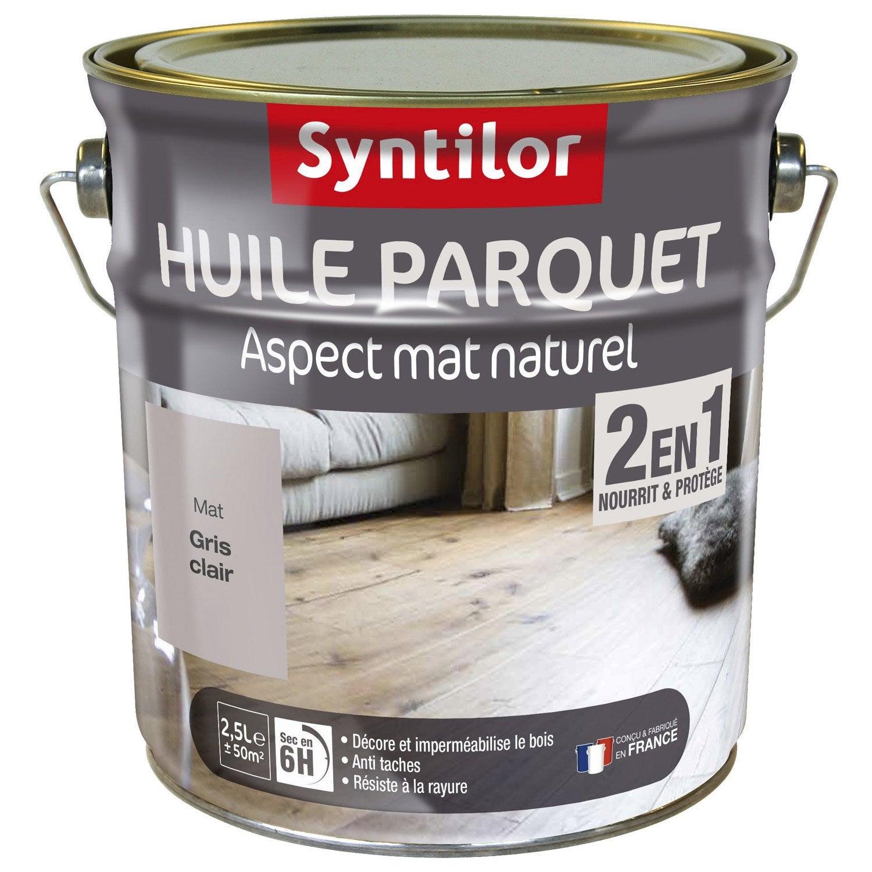 Huile parquet syntilor naturelle 2 5 l leroy merlin - Huile parquet leroy merlin ...