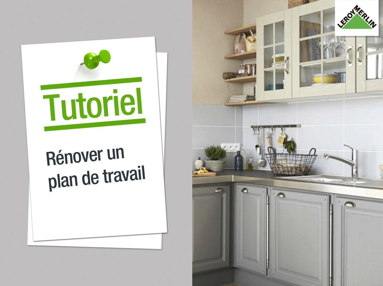 Carrelage cuisine a renover - Plan de travail leroy merlin ...