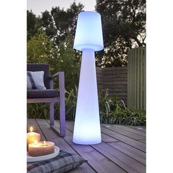 Lampadaire exterieur led 6 w luminaire lumiere comparer for Luminaire exterieur design leroy merlin