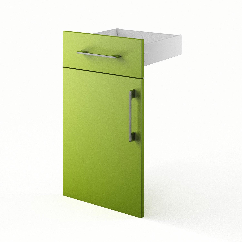 Porte tiroir de cuisine fd60 delinia d lice blanc blanc n for Porte cuisine 40 60