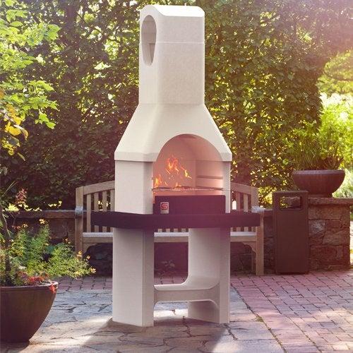 Barbecue plancha et cuisine d 39 ext rieur jardin leroy for Barbecue fixe exterieur