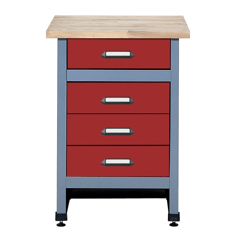 table d 39 tabli de m canicien kupper 60 cm rouge leroy merlin. Black Bedroom Furniture Sets. Home Design Ideas