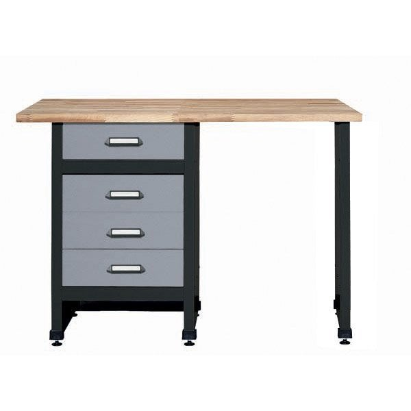 etabli de m canicien kupper 120 cm gris leroy merlin. Black Bedroom Furniture Sets. Home Design Ideas