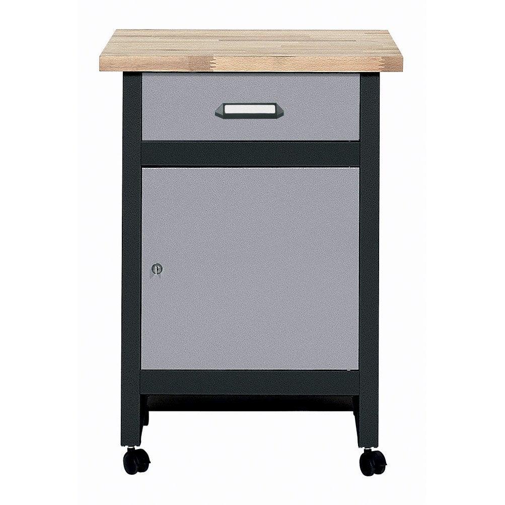 table d 39 tabli de m canicien kupper 60 cm gris leroy. Black Bedroom Furniture Sets. Home Design Ideas